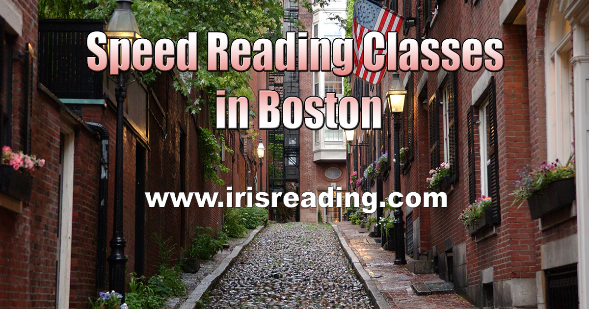 Speed Reading Classes in Boston