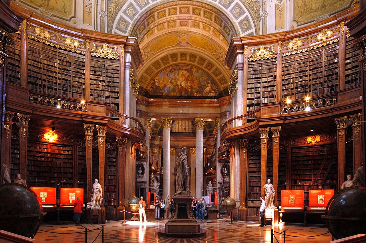 Austrian National Library, Viena