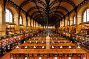 Bibliothèque Sainte Geneviève Paris France