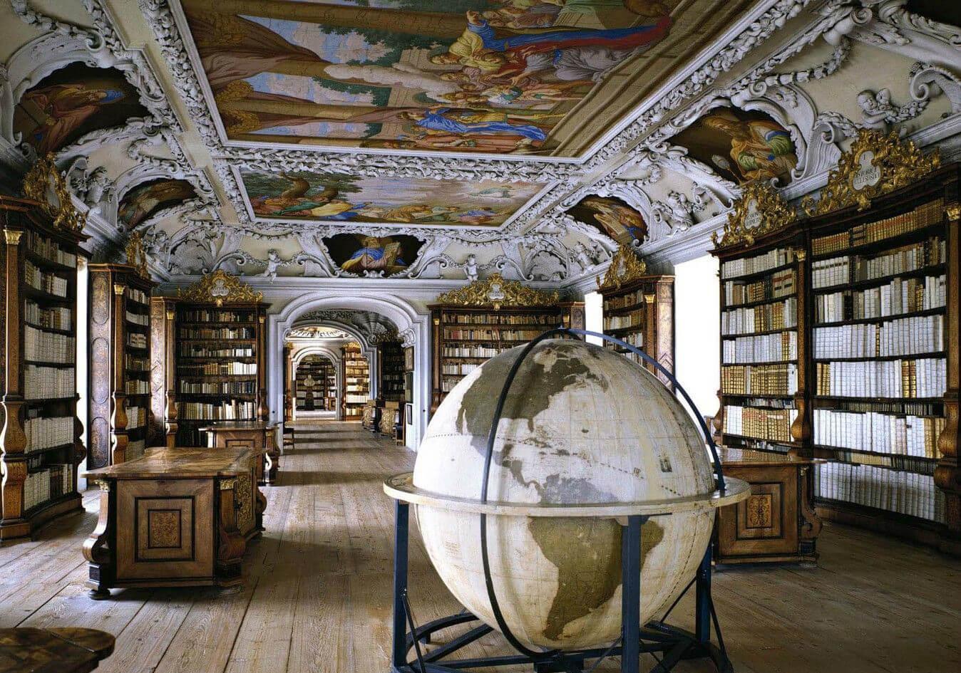 Kremsmünster Abbey Library