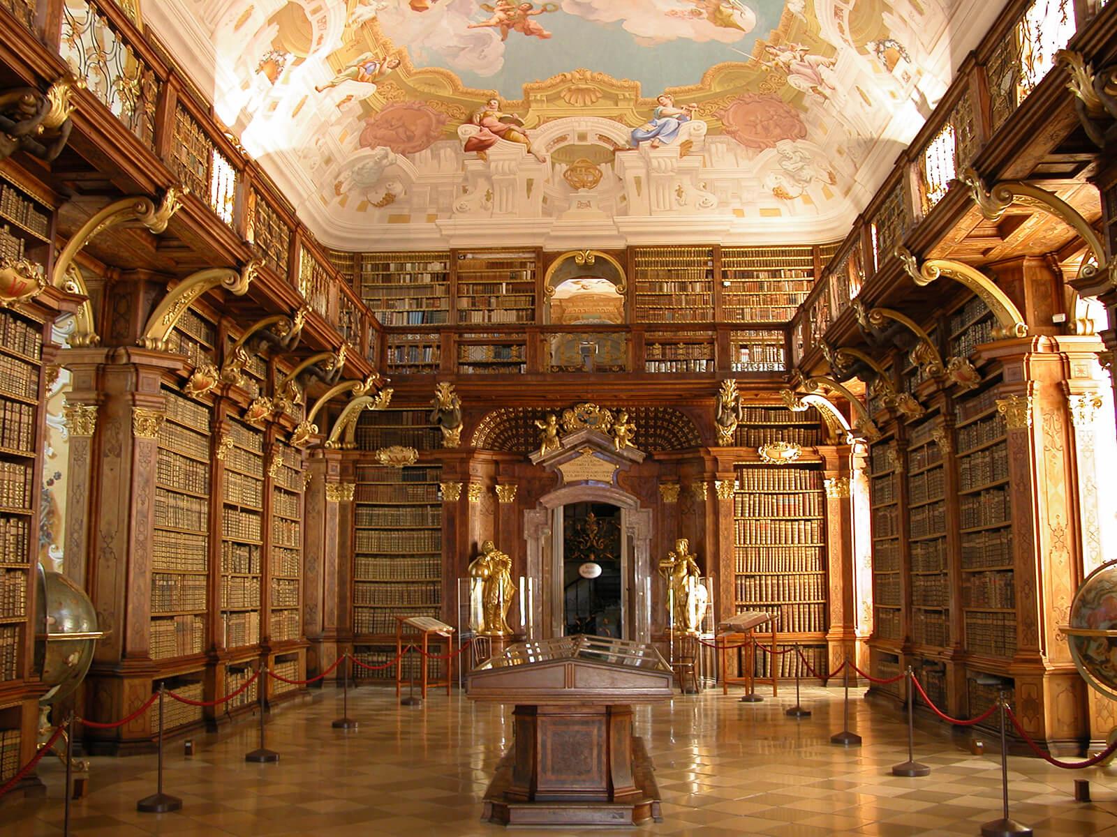 Melk Monastery Library Melk Austria
