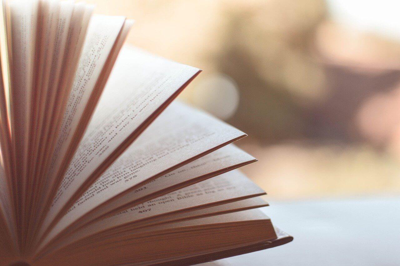 speed reading book blur