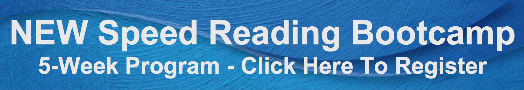 Speed Reading Bootcamp