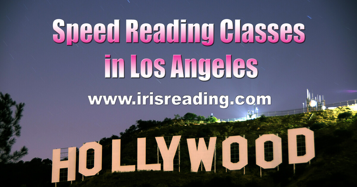 Speed Reading Classes in Los Angeles